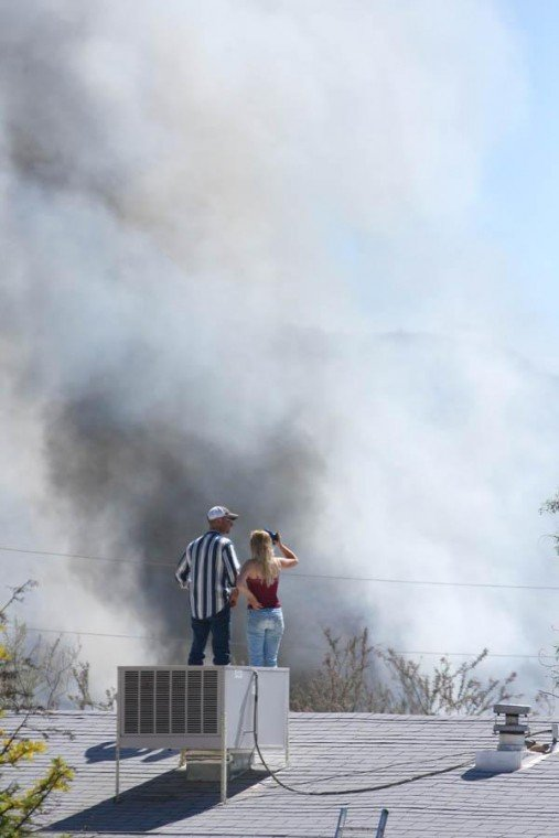 Picture Rocks fire destroys two mobile homes, garage