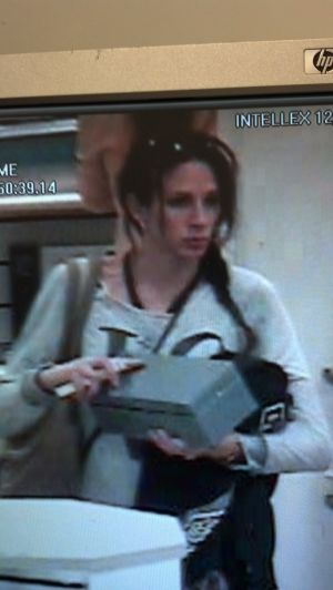 Female Shoplifter Attacks Store Employee With Soda Can: Female Shoplifter Attacks Store Employee With Soda Can