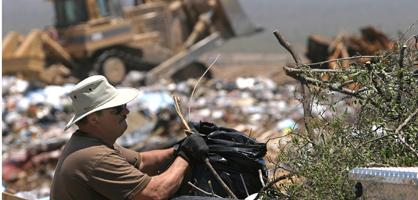 Tangerine landfill close to capacity