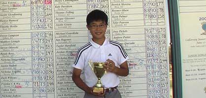 Athlete of the week: Frankie Wu
