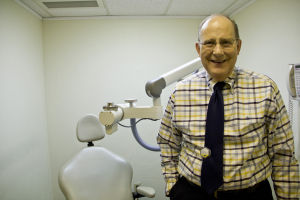 SaguaroDermatology: Dr. John Haraldsen, 65, owns Saguaro Dermatology, which offers general dermatology treatments and minor surgeries. The office has been opened for over 25 years. - Hannah McLeod/The Explorer