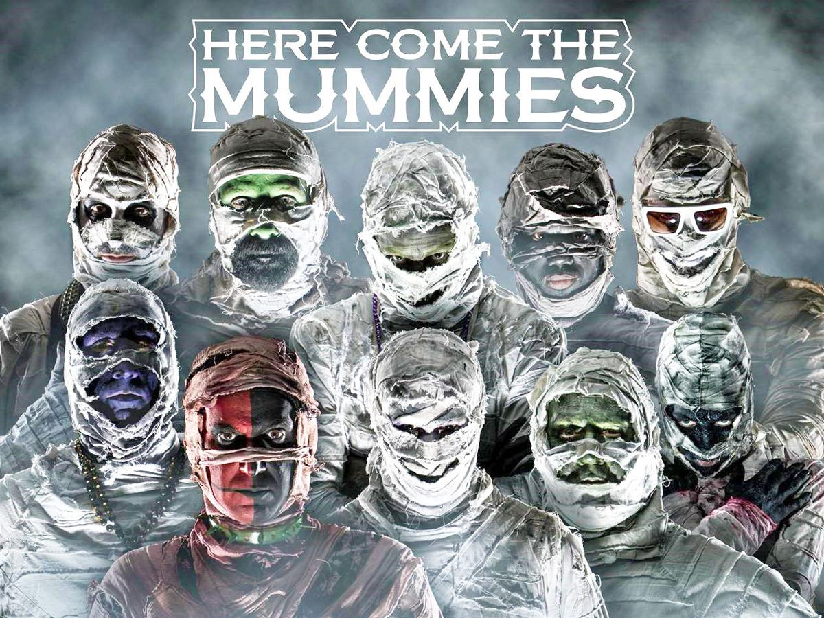 That's a wrap: mummies take the stage