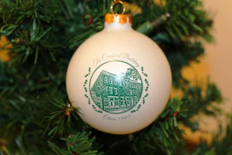 University Of Georgia Christmas Ornaments