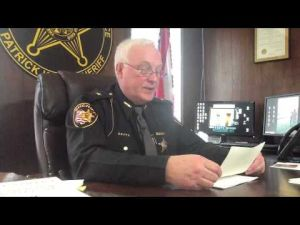 Sheriff Patrick Kelly indicted