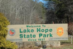 Lake Hope craft show