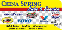China Spring Lube & Service
