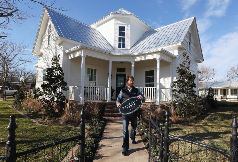 Magnolia House Already A Mcgregor Tourist Magnet Weeks