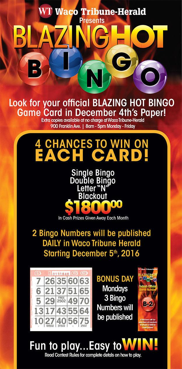 Blazing Hot Bingo information