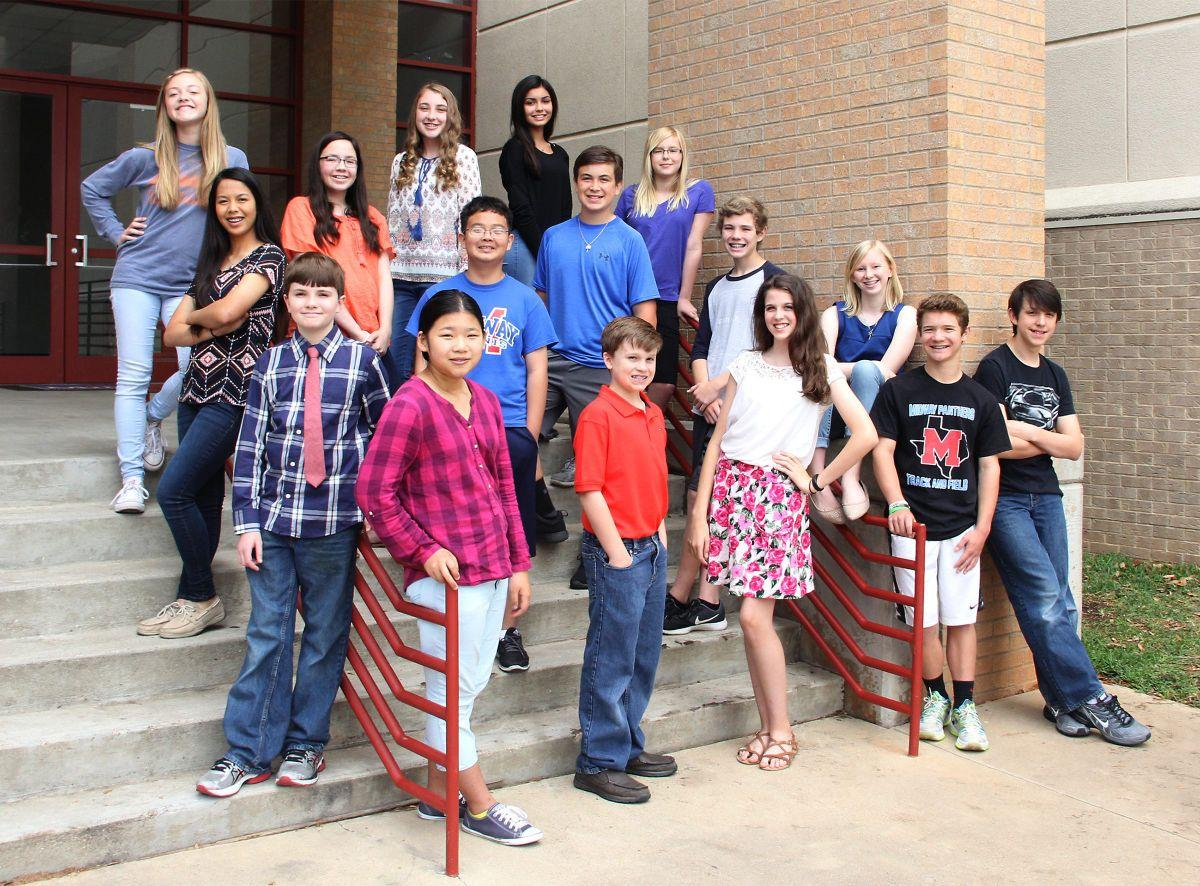 midway middle schoolers achieve duke tip honors community news midway isd photo
