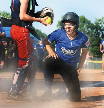 Little League Sectionals: Robinson juniors blast past Dallas
