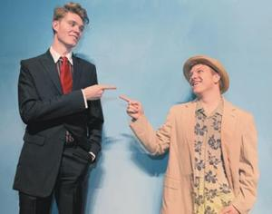 Con men lose track of reality in Baylor Theatre's 'Scoundrels'