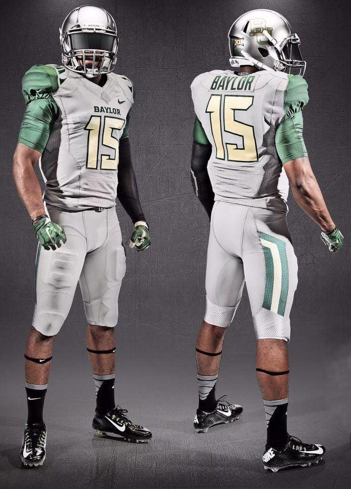 Baylor s endless variety of uniforms has given football program an ... 1b4d903b9