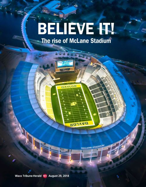 McLane Stadium magazine cover