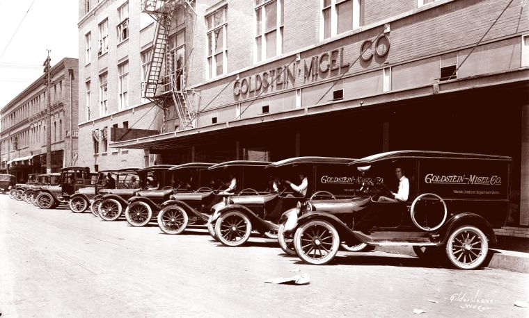 Portals to the past golden days of home delivery for Marstaller motors waco texas