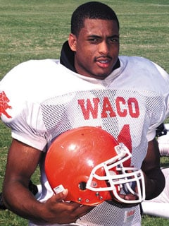 Ex waco high star johnson puts name on kickoff classic for American classic homes waco