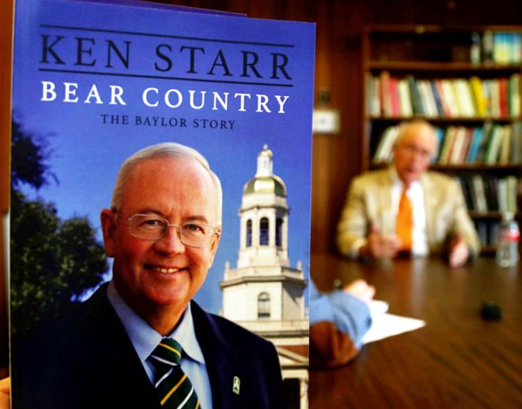Book Signing With Ken Starr Other Wacotrib Com
