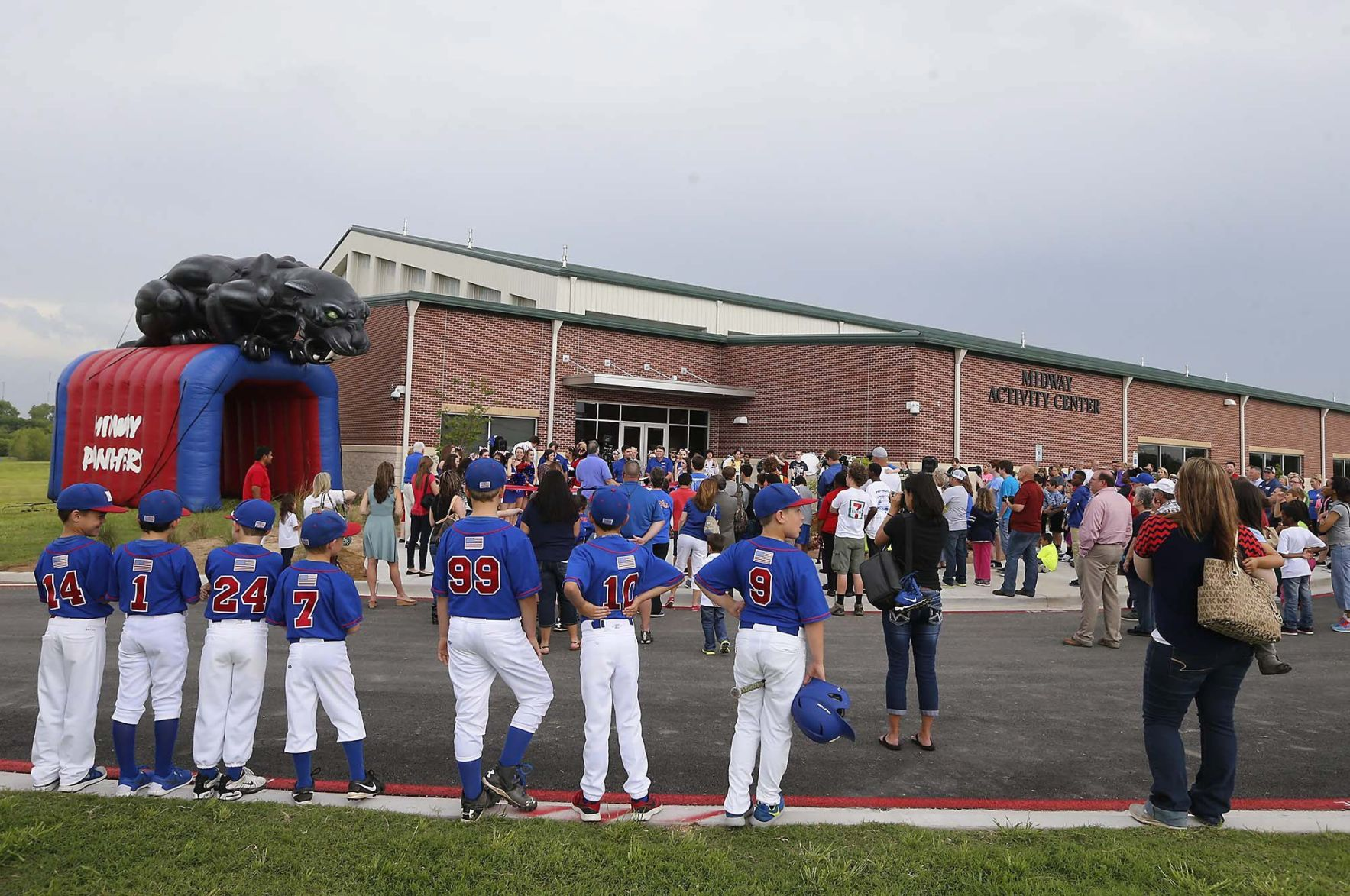 midway isd opens new athletics building