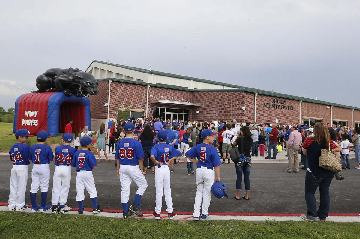 midway isd opens new athletics building education wacotrib com midway ra1