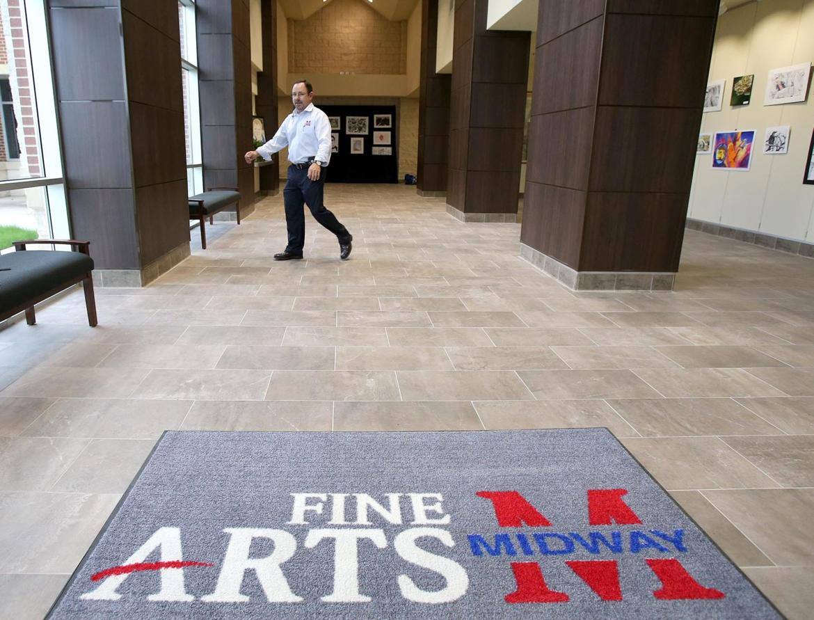midway isd celebrates new fine arts wing art show wacotrib art3