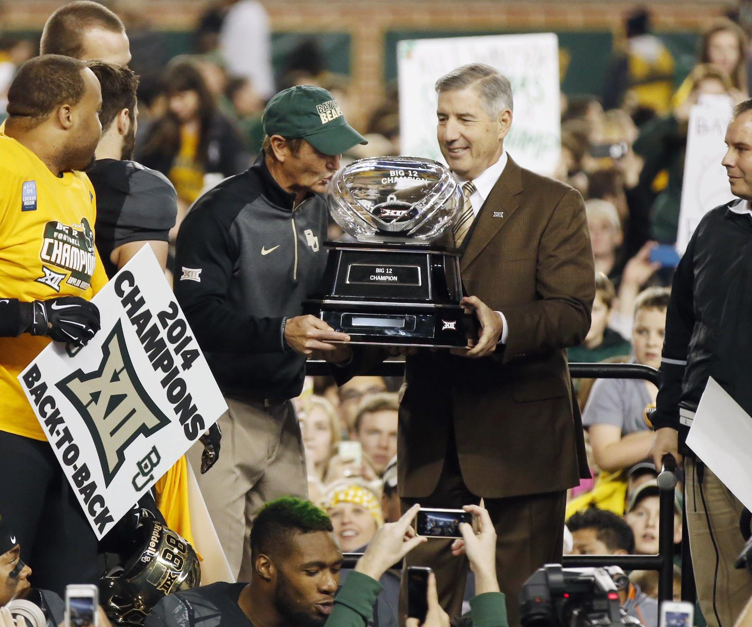 Brice Cherry: Great win, but was it enough? - WacoTrib.com: Baylor