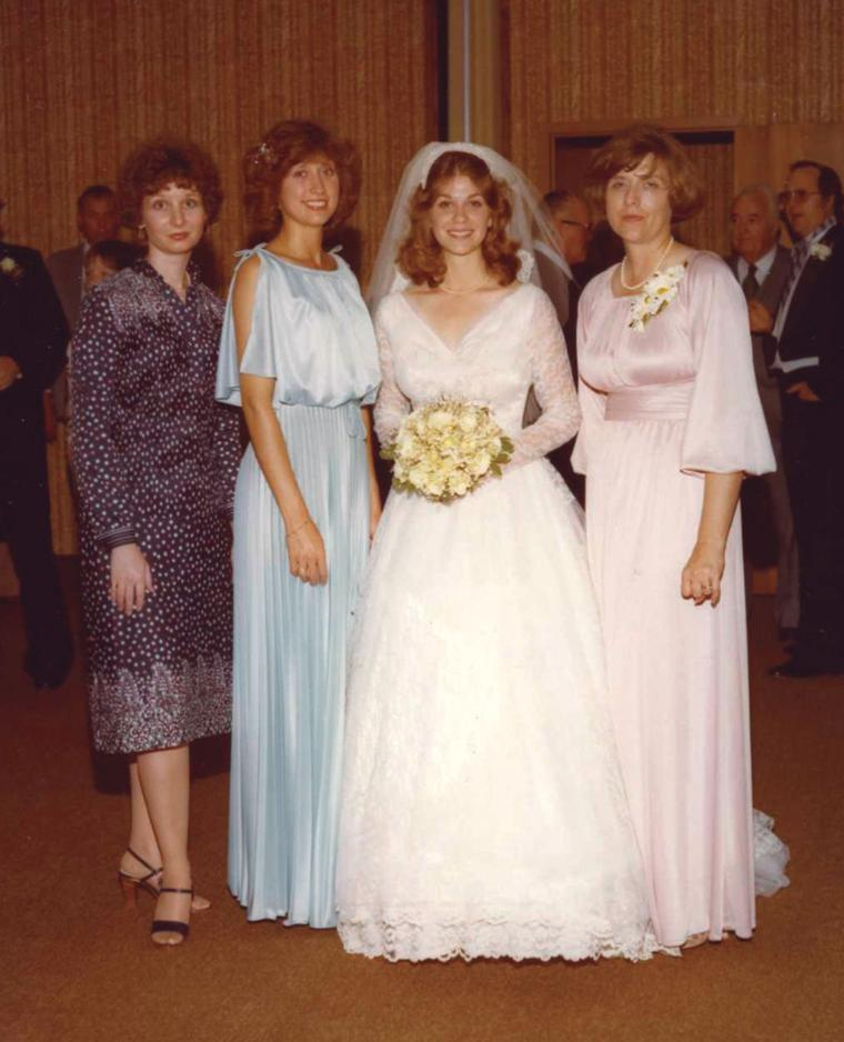 Wedding dress worn 4 times with happy marriages thriving for I give it a year wedding dress