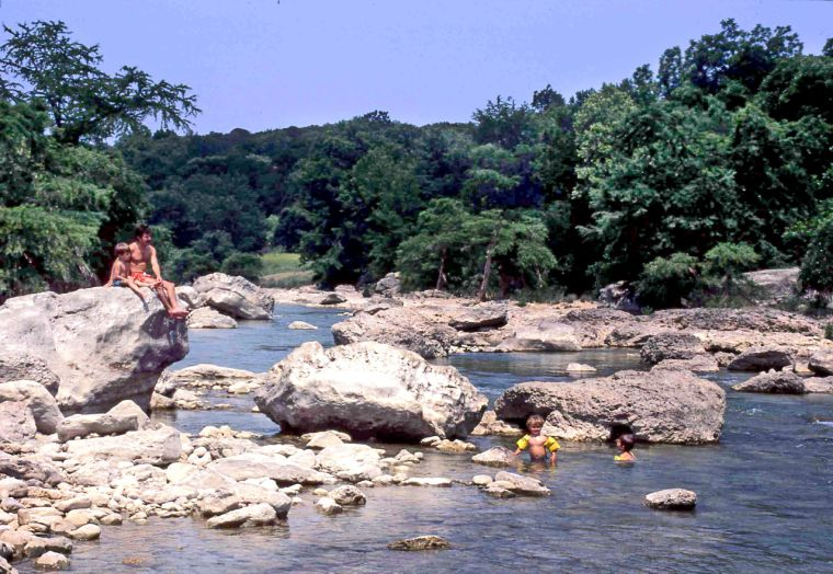 Texas travels pedernales falls state park a hill country for Marstaller motors waco texas