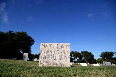 Greenwood Cemetery headstone