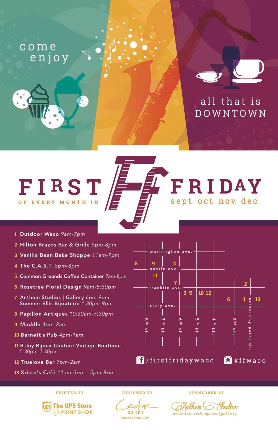 Image First Friday In Downtown Wacotrib Com Other