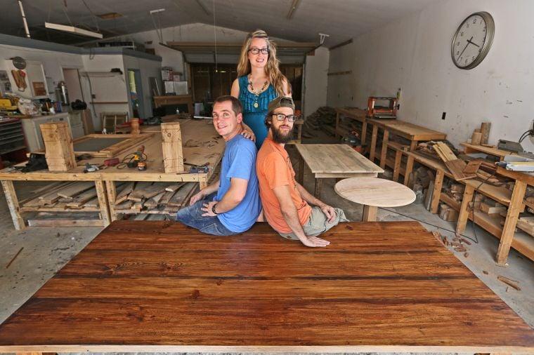 Old Wood New Furniture Waco Company Crafts Reclaimed Charm Waco Today