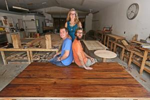 Old wood, new furniture: Waco company crafts reclaimed charm ...