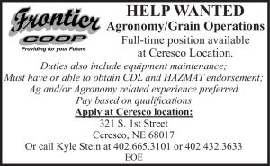 Frontier Coop - Agronomy/Grain Operations