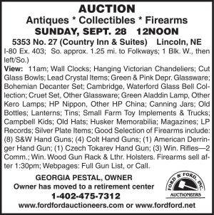 Ford & Ford - Auction