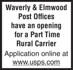 Waverly Post Office - carrier