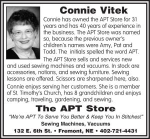 The Apt Store - Connie Vitek
