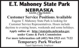 Mahoney State Park - customer service