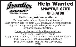 Frontier Coop - sprayer