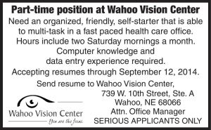 Wahoo Vision center