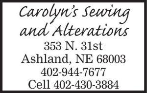 Carolyn's Sewing