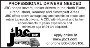 JBC Inc. - Drivers Needed