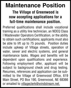 Village of Greenwood