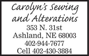 Carolyn's Sewing