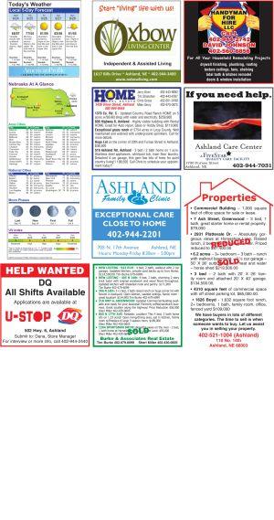 Ashland Weather page
