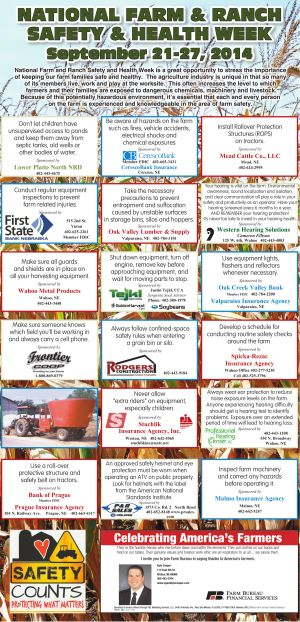 Farm Safety page