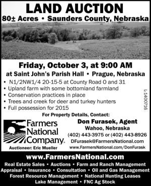 Farmers National - Land Auction