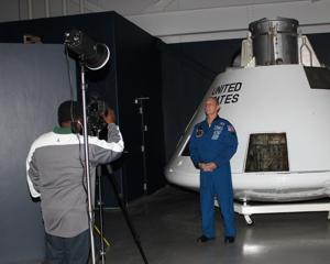 Ashland's astronaut films at museum