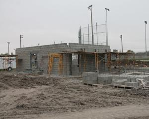Talks underway to restart ball park project
