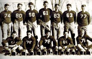 Undefeated football team first since 1937