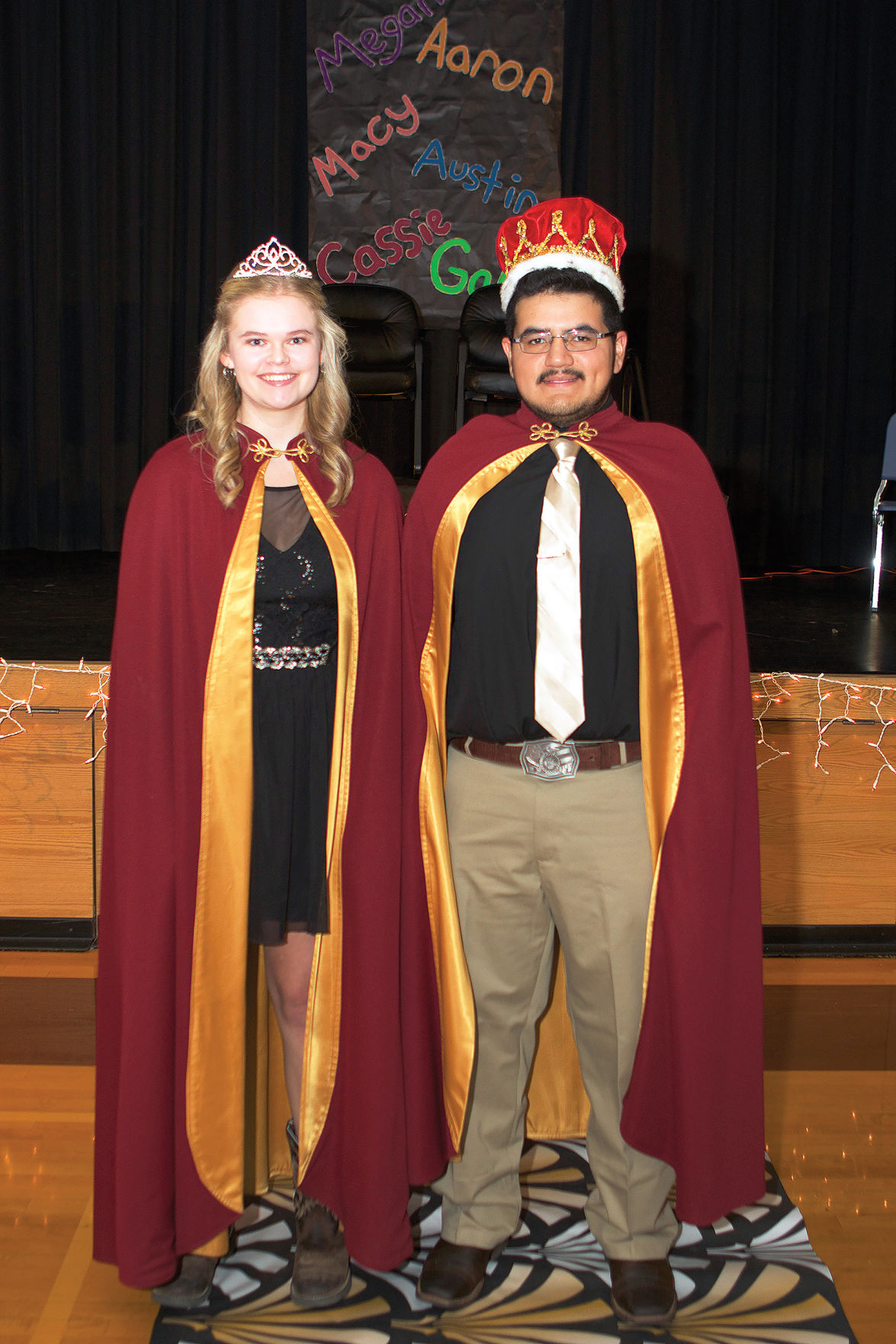 wyndmere crowns its homecoming queen and king news