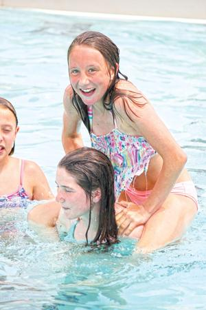 Making a splash at the Breckenridge Family Aquatic Center