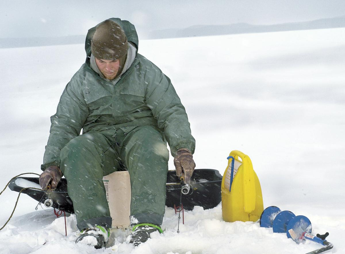 43rd annual ice fishing derby is saturday feb 4 local for Ice fishing tournament
